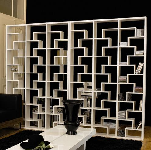 Open Sided Bookcase Room Divider