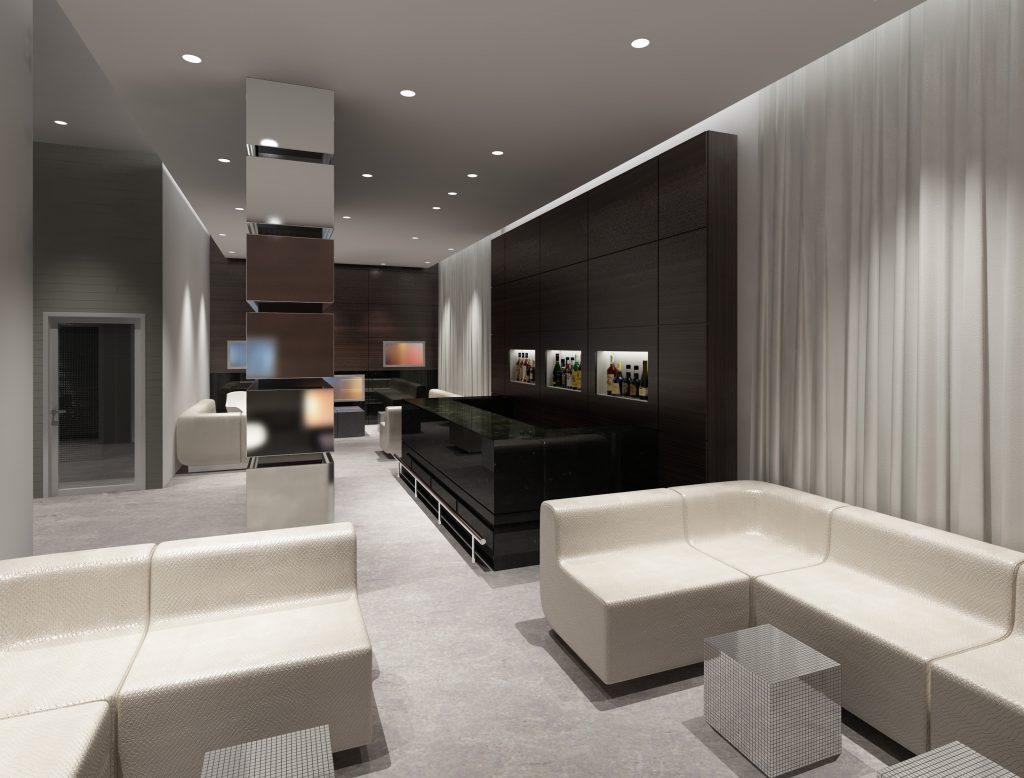 Contemporary Bar Concept - Commercial Interior Design