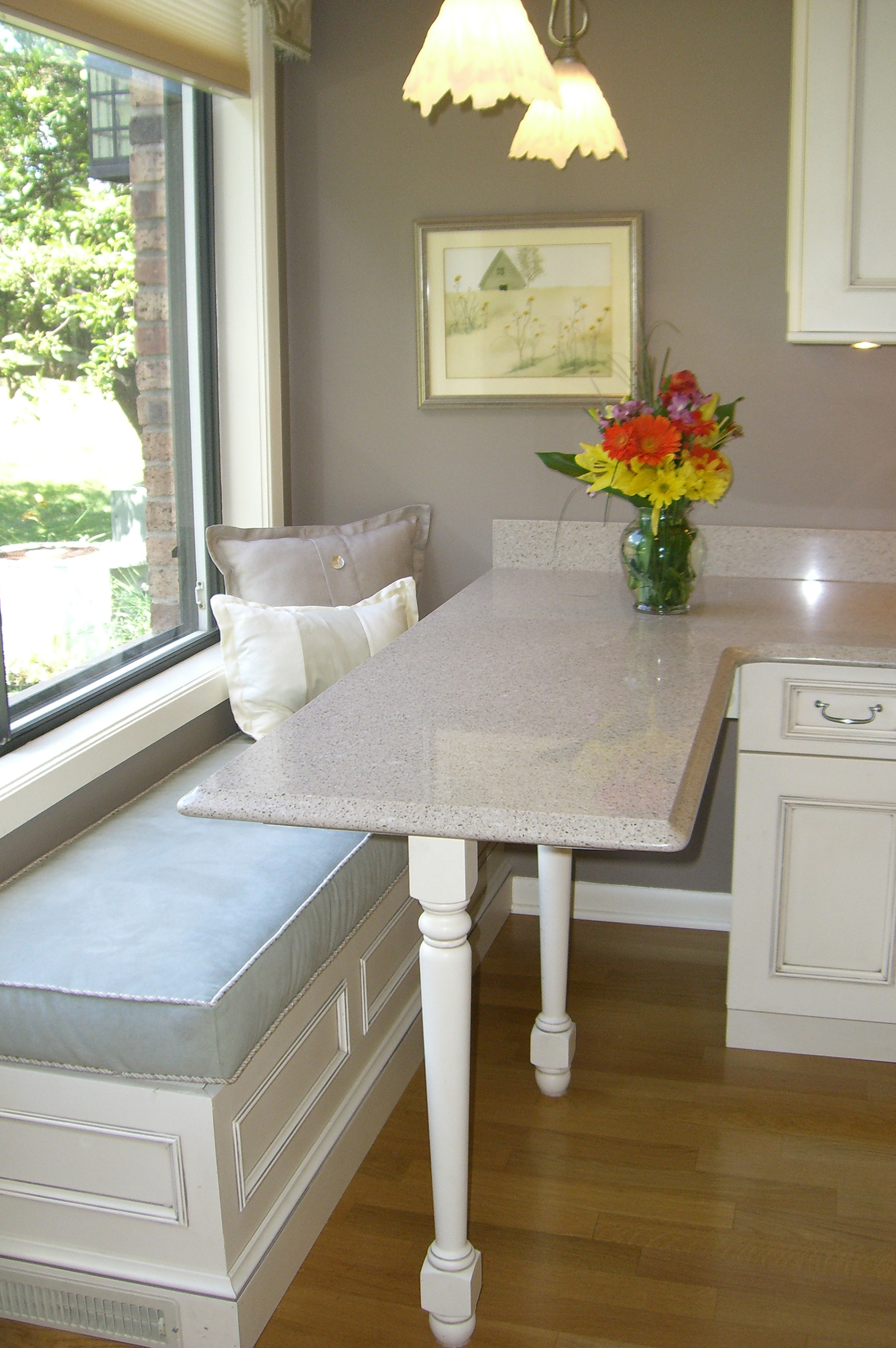 Wheelchair accessible kitchen